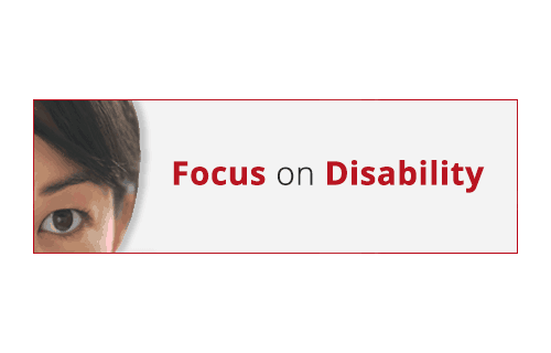 Focus on Disability