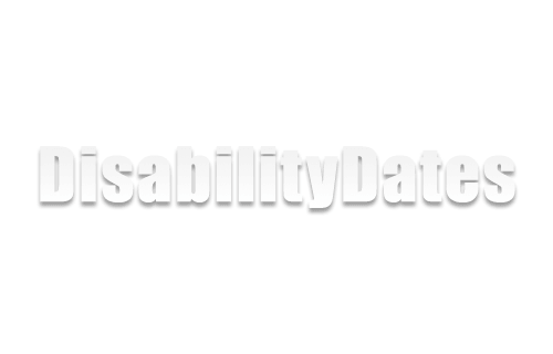 Disability Dates